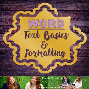 Microsoft WORD - Text Basics & Formatting Text Assignment/Rubric with an Example