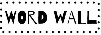 WORD WALL (HS Math)