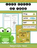 WORD WALL - LIFE CYCLE OF FROG