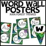 WORD WALL Rainforest Classroom Theme Decor