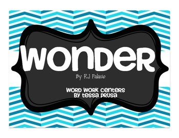 WORD WORK CENTERS: WONDER