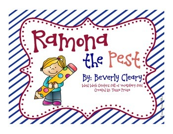 WORD WORK CENTERS:RAMONA THE PEST