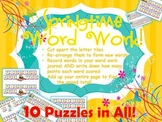 WORD WORK - Springtime Words and Phrases