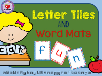 LETTER TILES AND WORD MATS