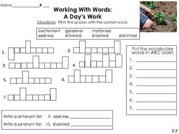 WORD WORK UNIT 2