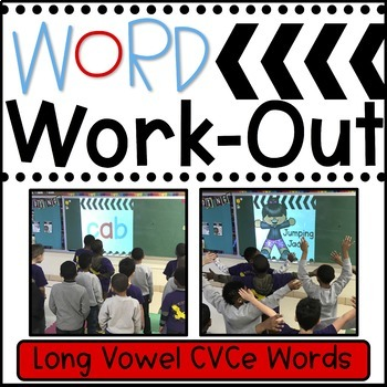 WORD WORKOUT: Long Vowel CVCe (a, i, o, u) Words BUNDLED