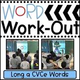 Long a CVCe Words WORD WORKOUT