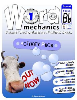 WORD and SOUND Study:Word Mechanics Bb: Activity Pack 1