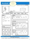 WORDBOOK: A Facebook-style Word-web Graphic Organizer w/ 1