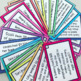 WORDED MATHS PROBLEMS TASK CARDS || COLOUR AND B&W