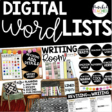 WORD LISTS: Detailed and Descriptive Writing