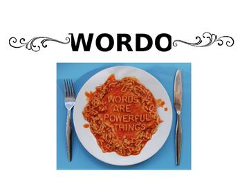 WORDO 5th grade science vocabulary review game