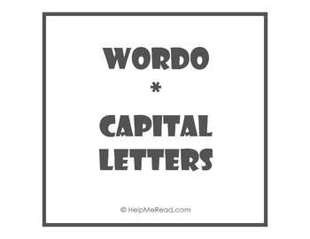 WORDO - ABC Capital Letters