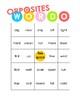 WORDO Opposites: Class-Sized Opposite Word Game