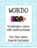 WORDO Vocabulary Game