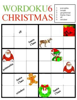 WORDOKU6 CHRISTMAS