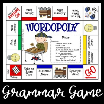 WORDOPOLY--Nouns