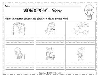 WORDOPOLY--Verbs