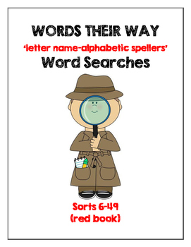 WORDS THEIR WAY Word Searches-Red Book