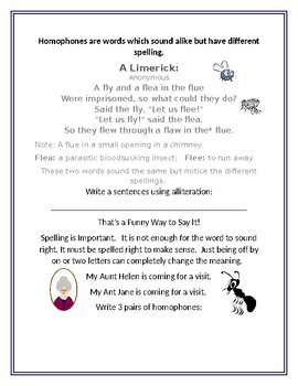 WORDS WORTH KNOWING #36: Vocabulary  with Homophones
