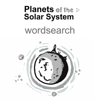 WORDSEARCH Solar System Planets
