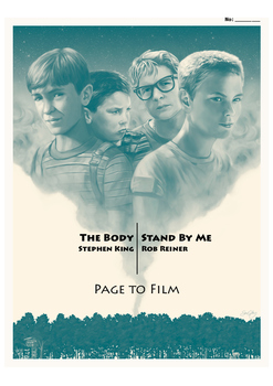 WORK BOOKLET: The Body / Stand By Me