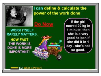 KINETIC & POTENTIAL ENERGY, WORK, POWER, LAW OF CONSERVATION BUNDLE: ALL-IN-ONE!