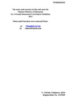 WORKBOOK - PAGES - F.I. - Gr. 3 - Ont. Min. of Ed. - April 5, 2018