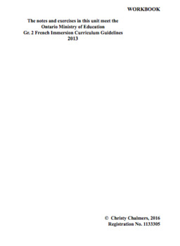 WORKBOOK - PAGES - GR. 2 F.I. - ONT. MIN. OF ED. - AUGUST 1, 2018
