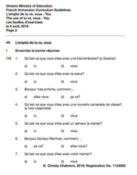 WORKBOOK - PAGES - GR. 4 F.I. - ONT. MIN. OF ED. - JULY 24, 2018