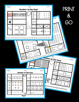 WORKING WITH NUMBERS! Printable Games, Activities, Graphic Organizers