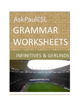 TEFL/ESL WORKSHEET Infinitives/Gerunds