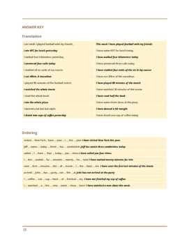 TEFL/ESL WORKSHEET Past Simple Vs Present Perfect