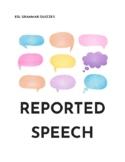 TEFL/ESL WORKSHEET Reported Speech