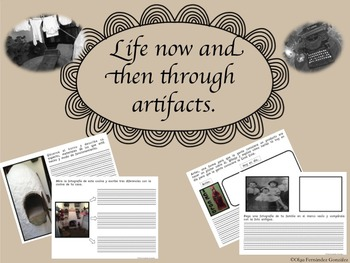 WORKSHEETS TO ANALYZE LIFE NOW AND IN THE PAST THROUGH ARTIFACTS