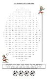 WORLD CUP 2018 COUNTRIES WORDSEARCH