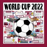 WORLD CUP TEACHING RESOURCES DISPLAY FOOTBALL SPORTS RUSSIA 2018 PE KS1-2
