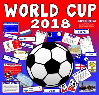 WORLD CUP TEACHING RESOURCES DISPLAY FOOTBALL SPORTS RUSSI