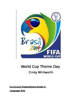 WORLD CUP THEME DAY!!