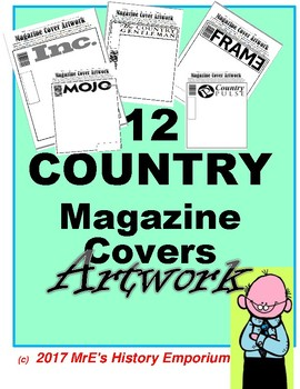 WORLD Country Magazine Cover Artwork
