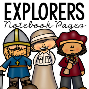 WORLD EXPLORERS Notebook Research Pages, World History/Geography Project