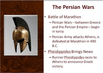 WORLD HISTORY: Ancient Greece Warring City States PowerPoint and Videos