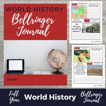 WORLD HISTORY DBQ Bellringer MEGA-PACK - Over 150 Warm Ups Growing Bundle