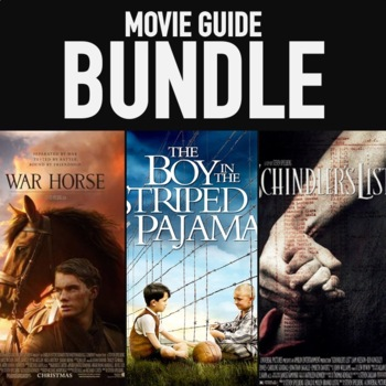 WORLD HISTORY MOVIE GUIDES SECOND SEMESTER WAR HORSE SCHINDLER'S VIDEO GUIDES
