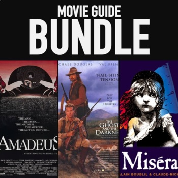 WORLD HISTORY MOVIE GUIDES FIRST SEMESTER AMADEUS LES MISERABLES VIDEO GUIDES