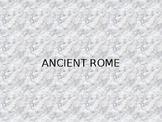 WORLD HISTORY: UNIT 2 - CLASSICAL CIVILIZATIONS: Ancient Rome