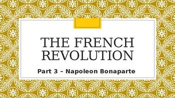 WORLD HISTORY: UNIT 5 - The French Revolution Part 3