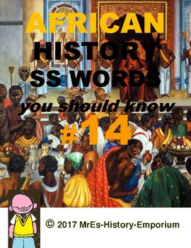 WORLD HISTORY    Words You Should Know #14
