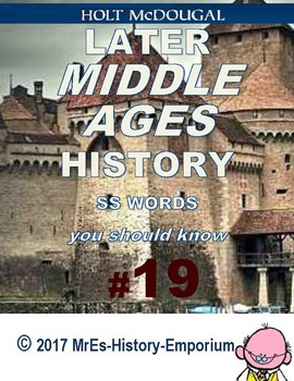 WORLD HISTORY    Words You Should Know #19