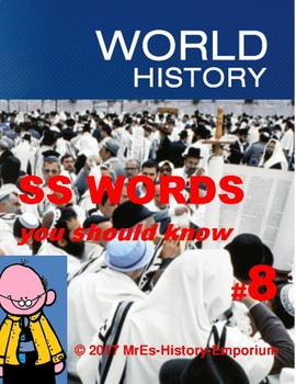 WORLD HISTORY  Words You Should Know #8
